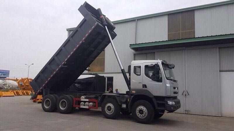 xe tải ben Chenglong 4 chân