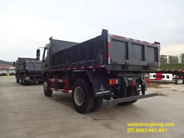 xe tải ben Chenglong 2 chân 8 tấn